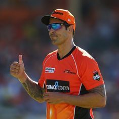 Watch: Mitchell Johnson bowling at new Perth stadium is the stuff of England's nightmares