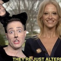 'Can you answer a question without doublespeak?': Watch this musical takedown of 'alternative facts'