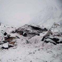 Three soldiers dead after avalanche hits Kashmir's Batalik sector