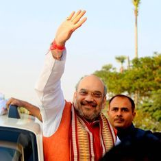 Amit Shah releases BJP's manifesto in UP, says efforts to build Ram Mandir will be made