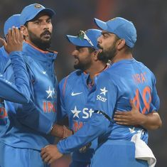India hold their nerve to beat England by 5 runs in 2nd T20I, level series 1-1