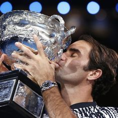 How a Dylan Thomas classic provided the starry foil to Roger Federer's brilliance