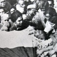 'बापू की अंतिम यात्रा के दृश्य एक त्रासदी थे जिसके वर्णन के लिए आज भी मेरे पास शब्द नहीं हैं'
