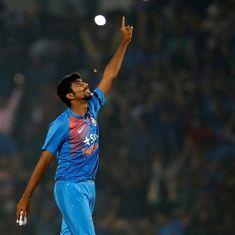 India were saved by Jasprit Bumrah's late heroics after another shoddy batting and fielding display