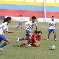 Alakhpura FC ride on Sanju's hat-trick to demolish Aizawl FC 6-2 in the Indian Women's League