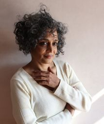 Here's the cover of Arundhati Roy's new novel