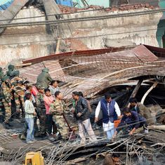 Kanpur building collapse: FIR filed against owner and SP leader Mehtab Alam, contractor