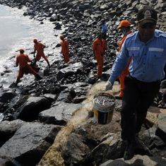 Chennai oil spill: Fisheries minister says 20 tonnes of spillage left to be cleared, sea food safe