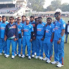 BCCI will award Rs 1 crore to the World Cup-winning blind Indian cricket team