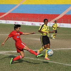 Football: Jeppiaar IT beat Aizawl FC 3-2 to post their first win in the Indian Women's League