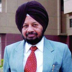Former CBI director Joginder Singh dies at 77