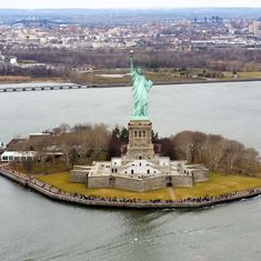 'Send these, the homeless, tempest-tost to me': Remembering Miss Liberty in the Donald Trump era
