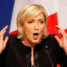 फ्रांस चुनाव में धुर दक्षिणपंथी उम्मीदवार मरीन ले पेन की हार होने सहित दिन भर के बड़े समाचार