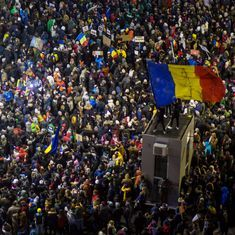 Romania repeals Bill to protect politicians facing corruption charges, but lakhs continue to protest