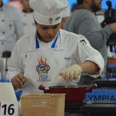 Causing a stir: When young chefs from 45 nations battled for the top title at a culinary Olympiad