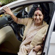 Sushma Swaraj intervenes to ensure safe return of Indian woman harassed by husband in Pakistan