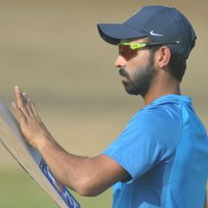 Ajinkya Rahane should walk back into the Indian Test team. He deserves a longer rope