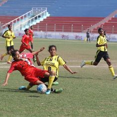 Rising Student's Club thrash Jeppiaar IT FC 7-0 to qualify for semi-finals of Indian Women's League