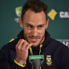'I would favour dominating India': Ruthless Faf du Plessis aims for a whitewash at Wanderers