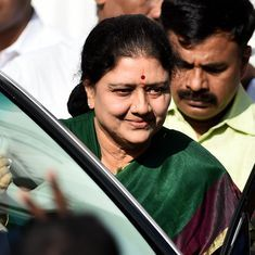 VK Sasikala out on parole as Tamil Nadu BJP demands inquiry into her husband's organ transplant