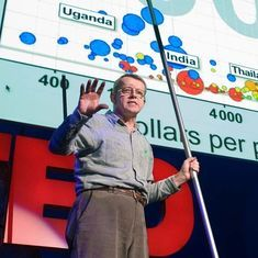 Watch: Rock star data guru Hans Rosling (1948-2017) on 'the best stats you've ever seen'