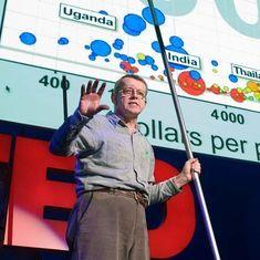 Watch: Rock star data guru Hans Rosling (1948-2017) on 'the best stats you've ever seen'