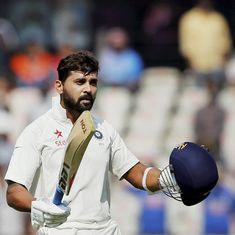 Pune wicket wasn't poor, it was 'challenging': Murali Vijay plays down the pitch controversy