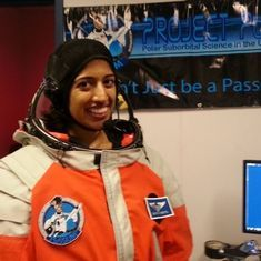 Citizen-scientist astronaut Shawna Pandya clarifies that there was no selection for a new mission