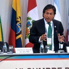 Peru offers reward for capture of ex-President Alejandro Toledo