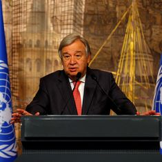 United Nations secretary general urges Donald Trump not to scrap Iran nuclear deal