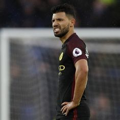 Champions League: Sergio Aguero ruled out of Manchester City's trip to Liverpool