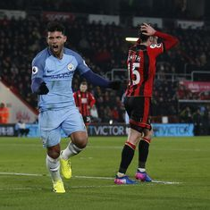 Video: Manchester City rise to second place with an easy 2-0 win over Bournemouth