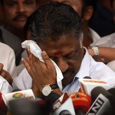 Panneerselvam's political future will depend on how quickly he consolidates public support