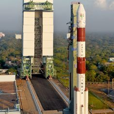 Isro launches a record 104 satellites at the same time from Sriharikota