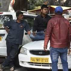 Ola, Uber drivers continue their strike in NCR for the sixth day