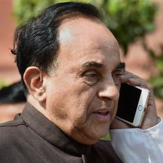 Sunanda Pushkar's death: Delhi High Court rejects Subramanian Swamy's plea for investigation