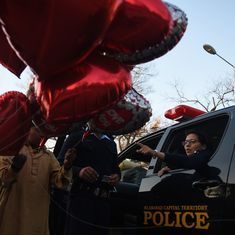'Don't promote Valentine's Day celebrations': Pakistan media regulator tells channels