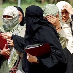 Thane school bans female students, parents from wearing burqa