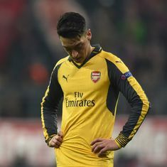Mesut Ozil is a perfect fit for Arsenal – when adversity calls, both go missing