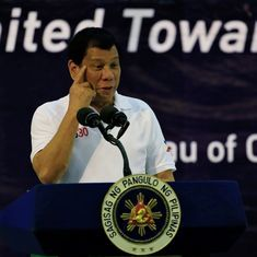 Philippines President Rodrigo Duterte jokes about offering virgins in attempt to boost tourism