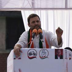 Rahul Gandhi launches Indira Canteen in Bengaluru