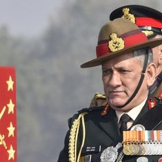 The military should be kept out of politics, says Army chief General Bipin Rawat
