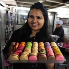 Why India's 'macaron queen' wrote a health cookbook after building a pastry empire