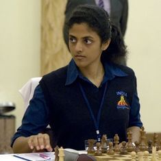 Chess: India's Dronavalli Harika draws in fifth round to hold joint lead at FIDE Women's Grand Prix