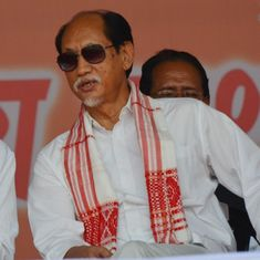 Nagaland: Neiphiu Rio takes oath as chief minister, BJP leader Y Patton becomes his deputy