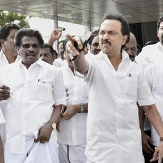From the chaos in Tamil Nadu Assembly, MK Stalin emerges from his father's shadow