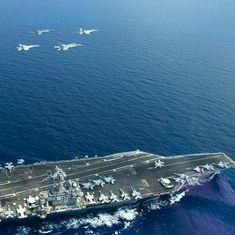 US Navy begins 'routine' patrols in South China Sea
