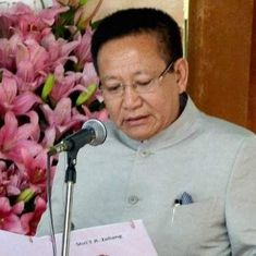 Nagaland: Newly appointed Chief Minister TR Zeliang proves his majority in the Assembly