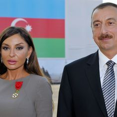 Azerbaijan president picks his wife as his vice president