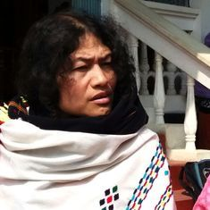 Irom Sharmila on the campaign trail in Manipur has a tough fight on her hands